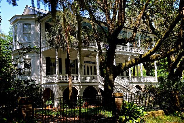 James Rhett House 1886 -  Beaufort SC