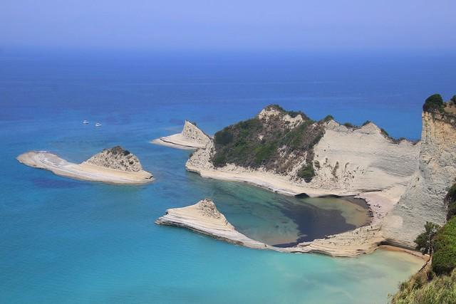 Cape Drastis near Sidari village, Corfu, Greece