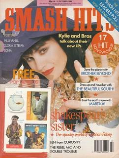 Smash Hits, October 18, 1989