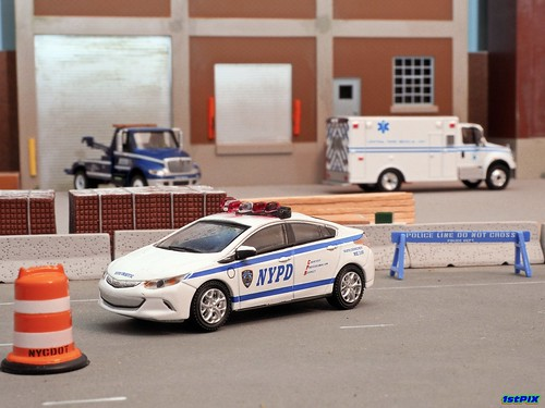 NYPD Leads the Charge Photo