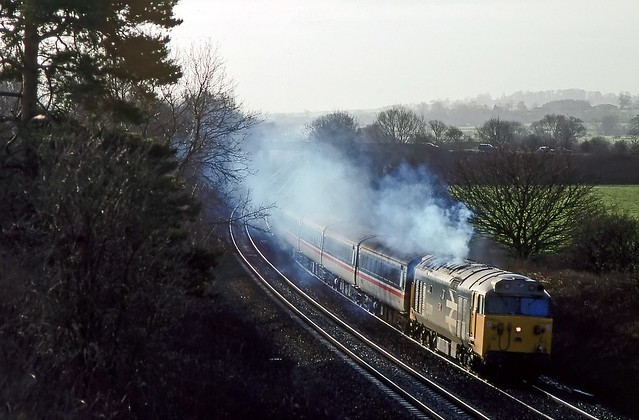 50031, King's Sutton, January 1990