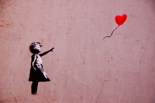 Banksy - Girl with red balloon | by fabiencambi