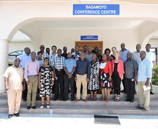 Participants at the Maziwa Zaidi program's critical reflection workshop | by International Livestock Research Institute