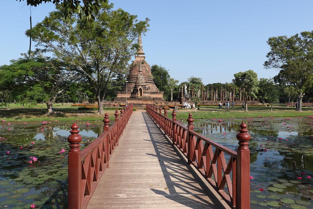 Sukhothai Historical Park Unesco World Heritage Site 1991 Flickr