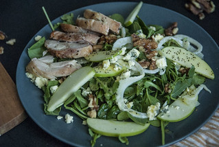 Apple, Fennel, Arugula Salad 244 | by theSeasonaljunkie