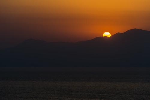 御輿来海岸 夕日 海岸 干潟 海 okoshikibeach tidalflat 宇土市 熊本県 日本 jp