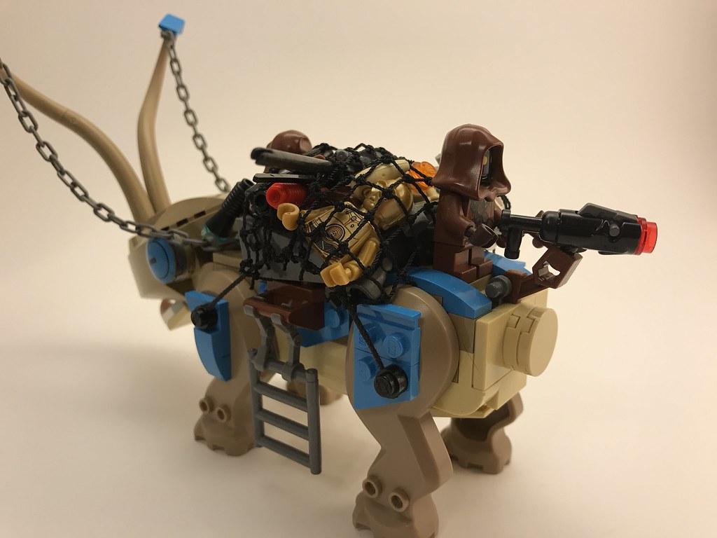 Lego Star Wars Jawa Scrap Carrier Andrew Martin Flickr