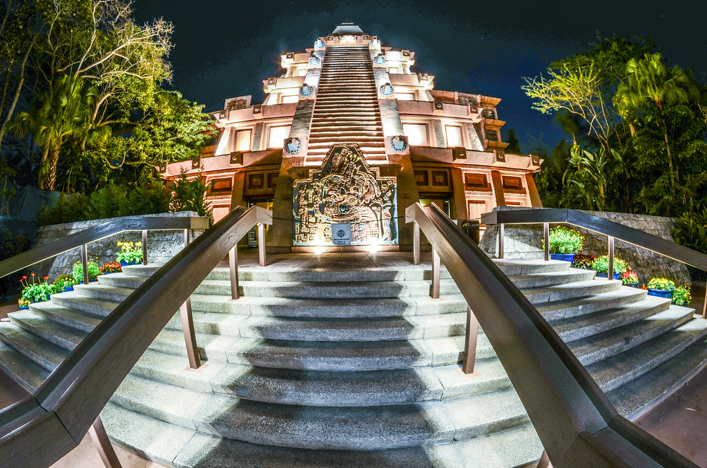 Mexico Epcot night