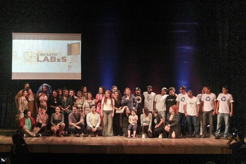 Encerramento Circuito LABxS (Lab Santista) - Teatro Guarany - 04/05/2017