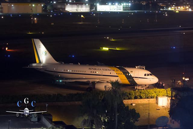 VC-1 FAB Santos-Dumont A319CJ