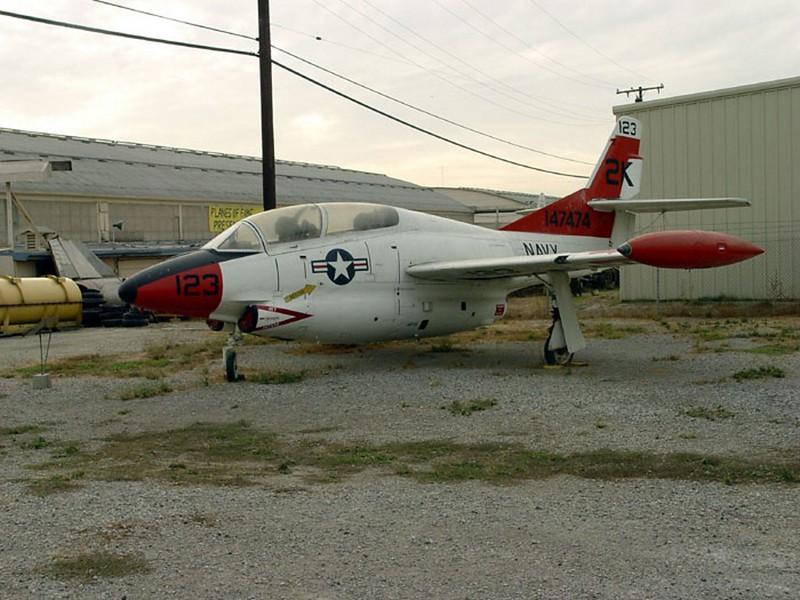 North American T-2A Buckeye 1