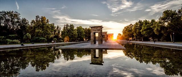 Madrid; Temple Of Debod
