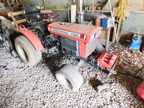 Massey Ferguson 1120 diesel tractor | by thornhill3