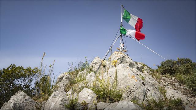 _DSC0761 Tricolore Italiana - Monte Circeo - Lazio / Italia