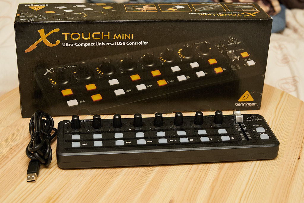 8a26b169631 Sold: Behringer X-TOUCH MINI Universal USB Controller for Lightroom ...