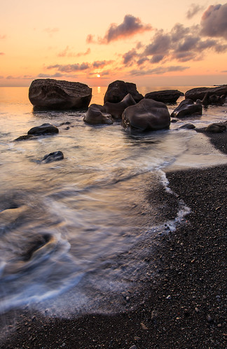 枋山鄉 台灣 taiwan 456k 屏東縣 6d ef1635mm 浪 海浪 岩石 海岸 海灘 海邊 sunset 夕陽 夕彩 雲彩 日落