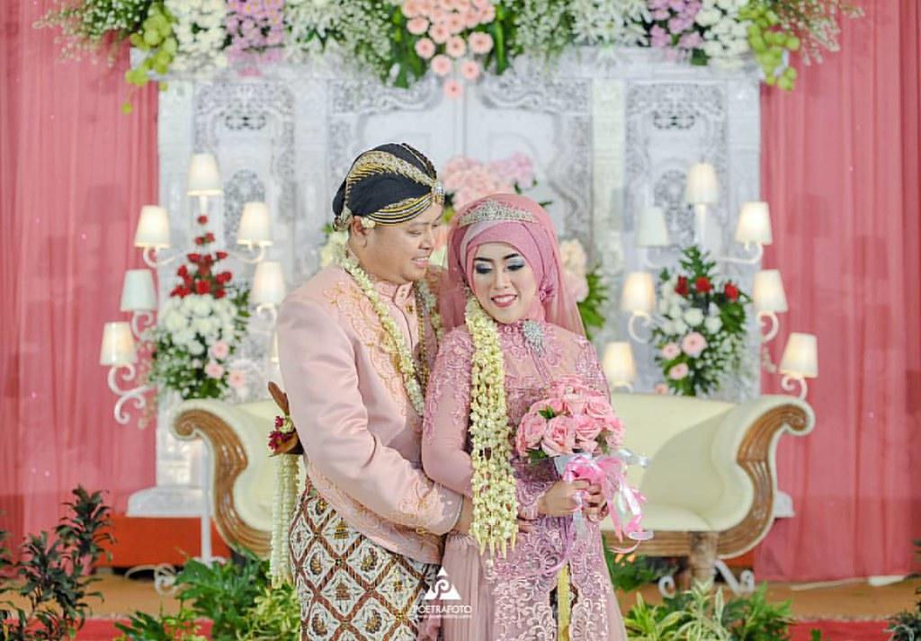 Foto Wedding Dg Baju Pengantin Jawa Muslim Muslimah Di