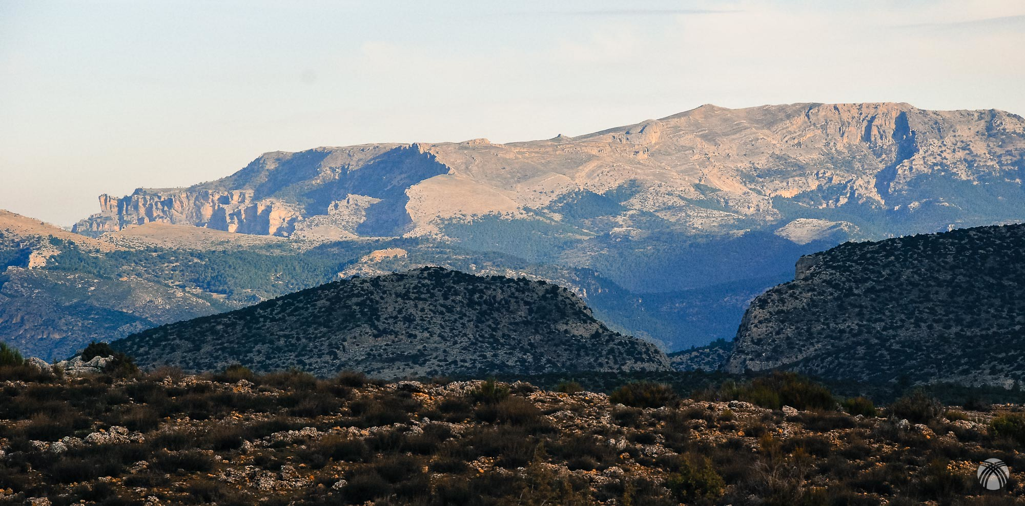 Ahí tenemos nuestra montaña viéndola desde lejos