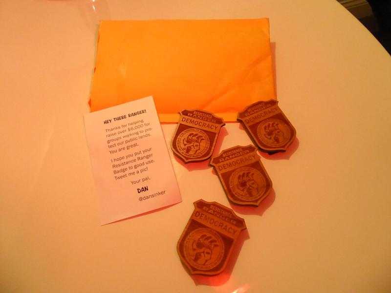 Resistance Ranger Badges