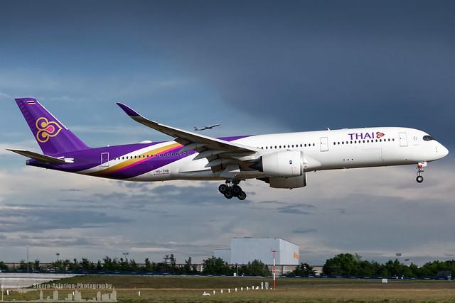 HS-THB Thai Airways International Airbus A350-941 (FRA - EDDF)