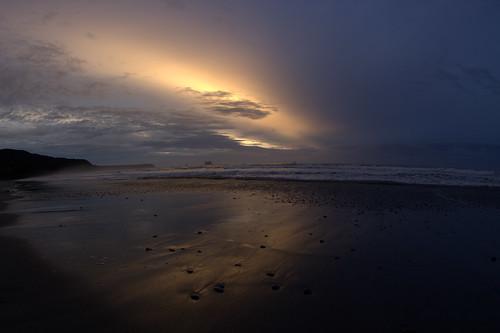 sunset beach sky clouds sonnenuntergang himmel strand