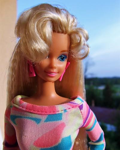 Barbie Totally Hair 1992   by Dollytopia
