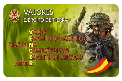 Los Valores en el Ejército de Tierra