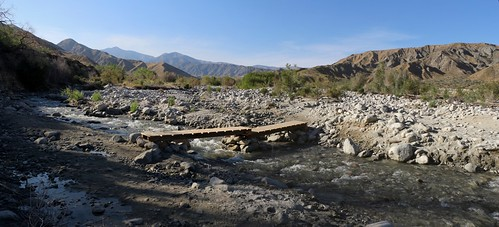 1376 A wooden bridge crosses the Whitewater River on the Whitewater Preserve Trail | by _JFR_