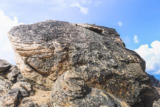 Summit boulder crux | by johnwporter