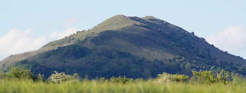 Skirrid from Little Skirrid (Dickie-Dai-Do)