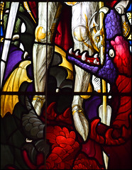 a dragon for St Michael (TF Curtis for Ward & Hughes, 1898)