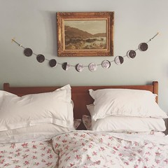 Clean sheets and moon phases #smallthings