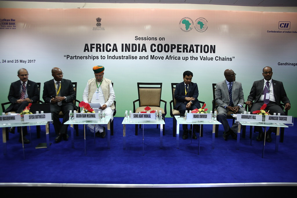 Africa India Cooperation - Session 1: Exploring Diversity: Promoting Trade and Investments, AM 2017