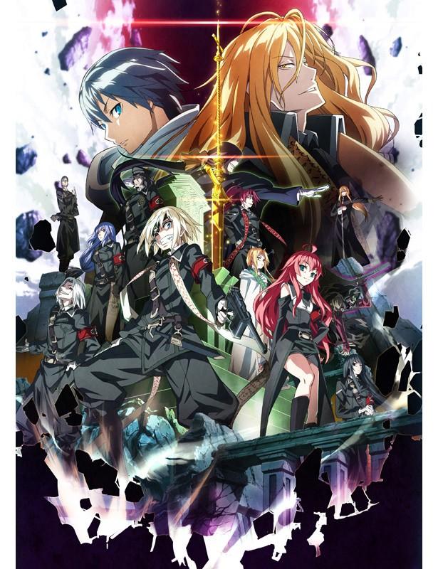 170629(2) -『藤井蓮×萊茵哈德×聖槍十三騎士團』海報登場、電視動畫版《Dies irae》將在10月放送超過一季話數!