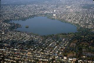 Aerial of Green Lake, 1987