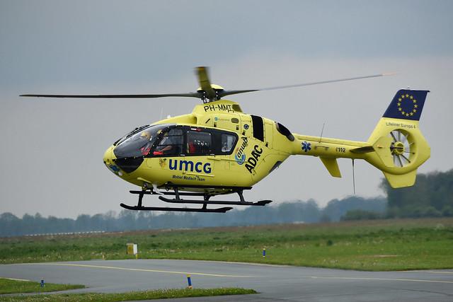 PH-MMT Eurocopter EC135 P2+ ANWB Medical Air Assistance @ Groningen Eelde 13-May-2017 by Johan Hetebrij