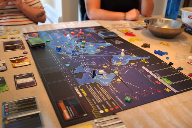 Best Cooperative Board Games Pandemic: Legacy