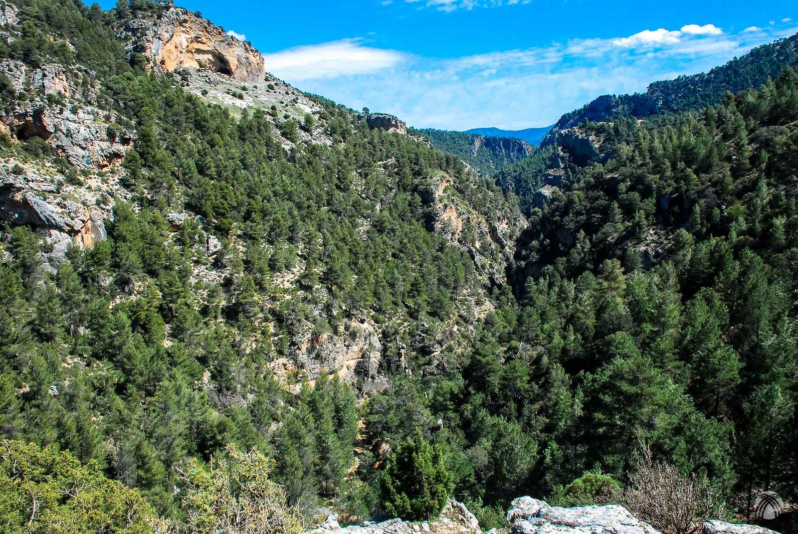 Vista general del cañón