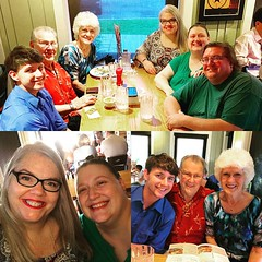 Wonderful visit with my parents and our 2nd cousin, Dawn! Loved the family memories shared and you can't beat hugs in person:sparkling_heart: