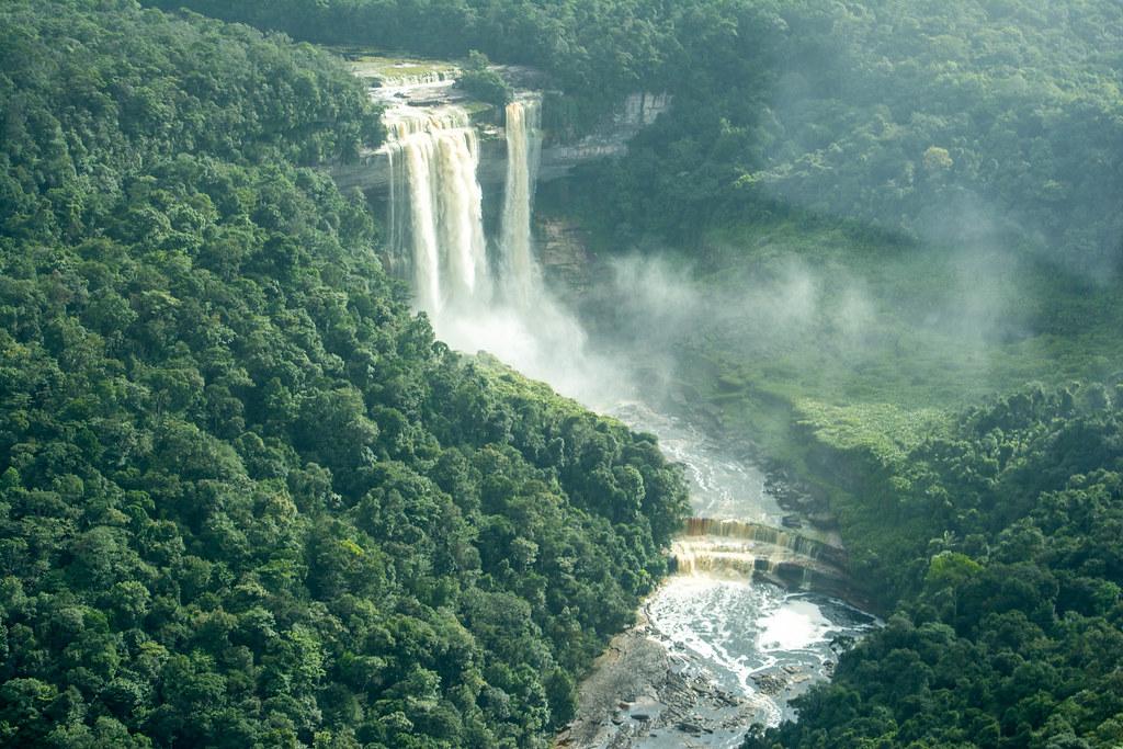 Guyana Kamarang Great Falls