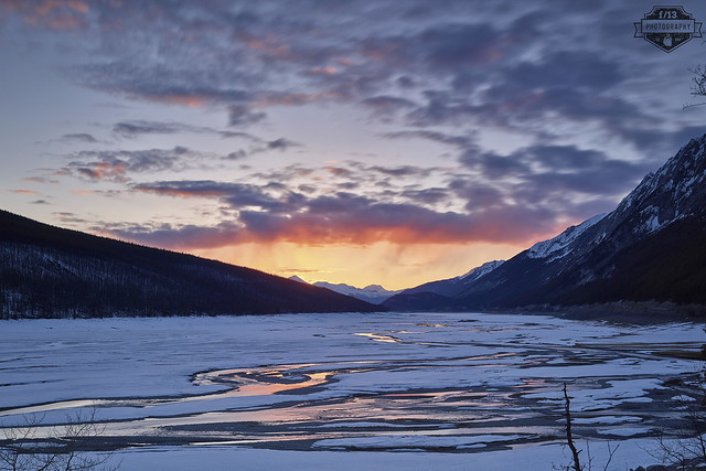 Medicine Lake Sunset - 25-Apr-2017
