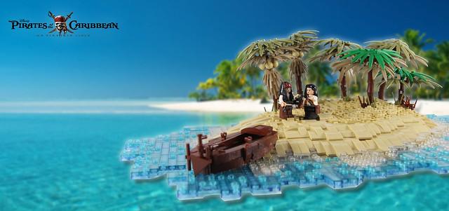 POTC - On Stranger Tides - Again on an island