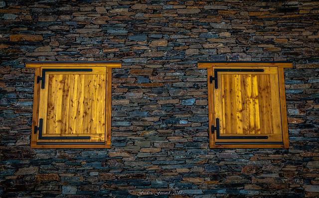 Mur aux Volets Clos