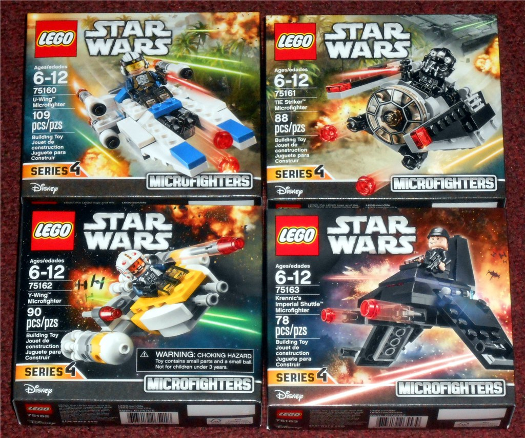 Series Wars Microfighte Lego Microfighters 4Star Fl1KTJc