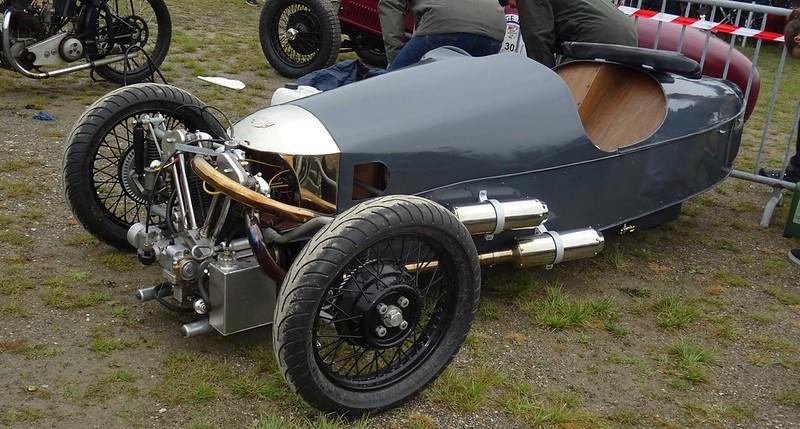 Morgan TW Racer gris foncé -  Vintage Revival Linas Montlhéry 2017 34820082885_621bcc6985_c