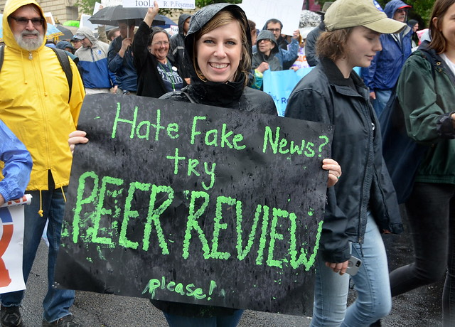 Hate fake news? Try peer review please