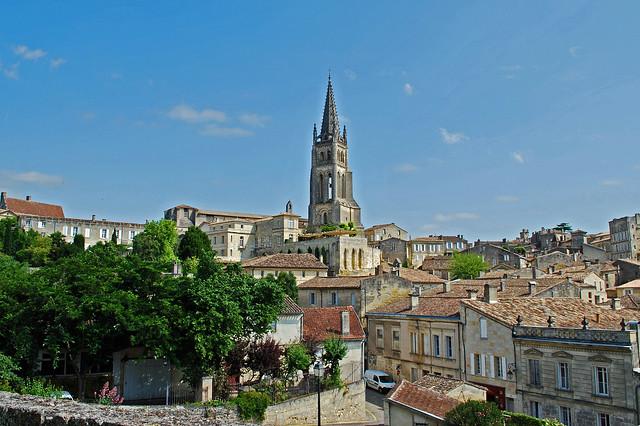 St Emilion Rooftops - France