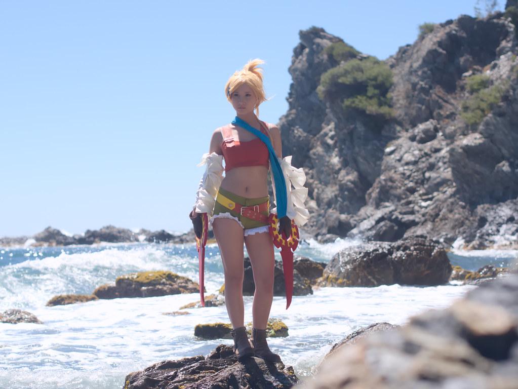 related image - Shooting Rikku - Final Fantasy X-2 - Calanque du Mont Salvat -2017-05-07- P2070140