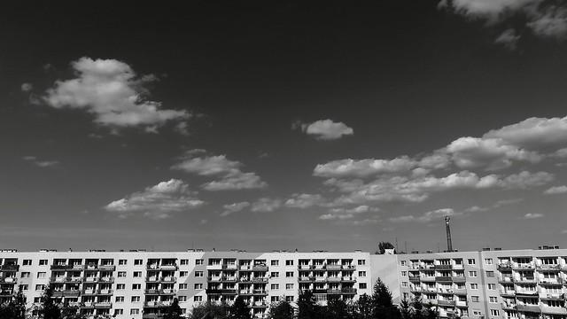 Dzierżoniów - Osiedle Tęczowe ( monochrome )