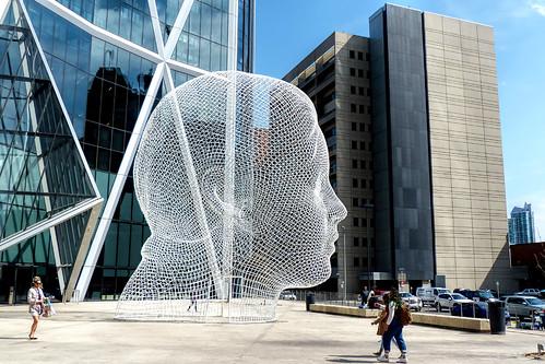 lumix fz200 calgary alberta canada outdoor sculpture architecture urban modern art cans2s explore 1000views
